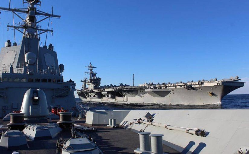 España retira un buque de guerra de la flota de EE.UU. por el aumento de la tensión sobre las armas nucleares con Irán