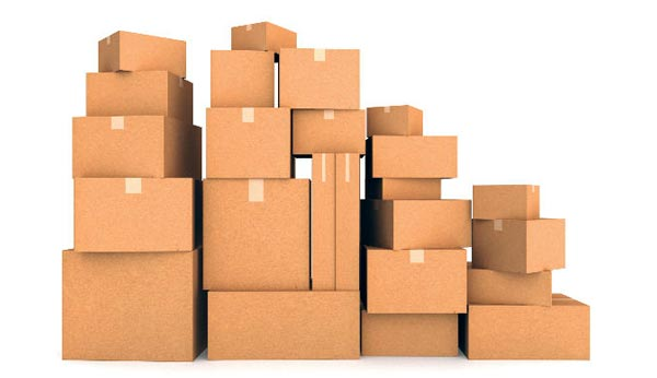 tipos de cajas de cartón